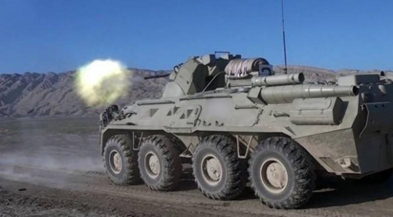 Azerbaycan ordusu Ağdam'a girdi