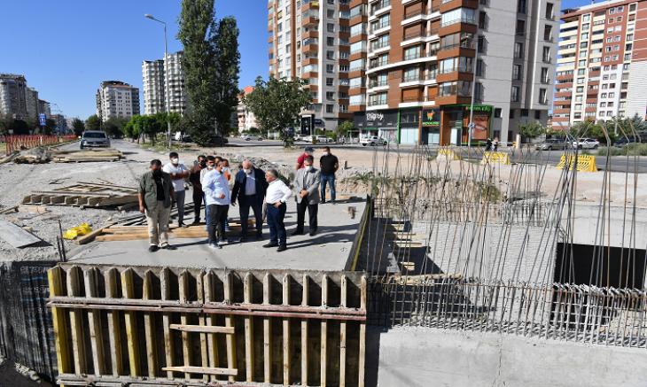 Büyükkılıç : Talas ve Belsin güzergahı tramvay hattı aynı anda bitecek