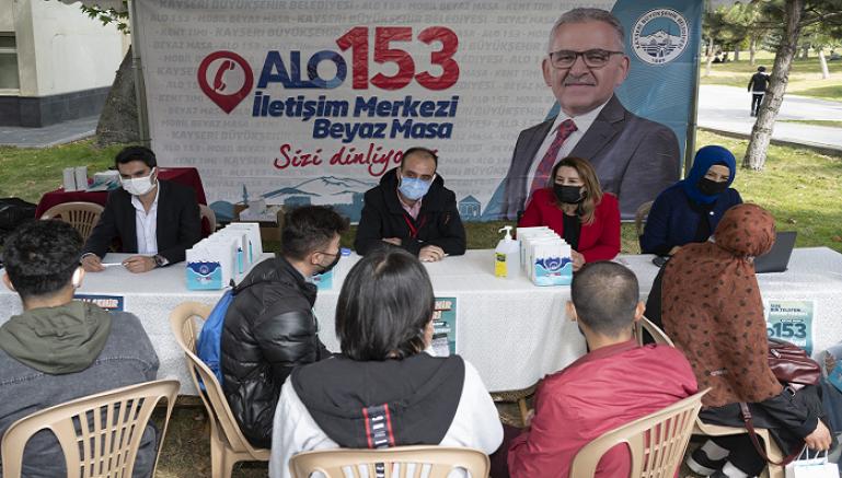 Büyükşehir'den üniversite öğrencilerine ücretsiz tam destek