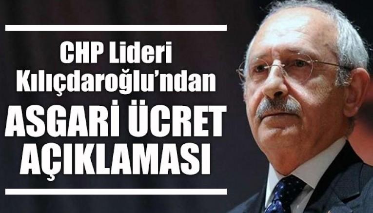 CHP Lideri Kılıçdaroğlu asgari ücret net 3.100 TL olmalıdır