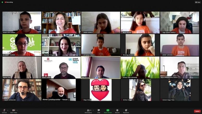 Çocukların Küresel Tasarım Maratonu 2021