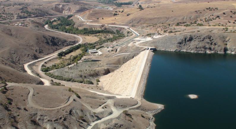 Devlet Su İşleri Bahçelik Barajından ekonomiye dev katkı