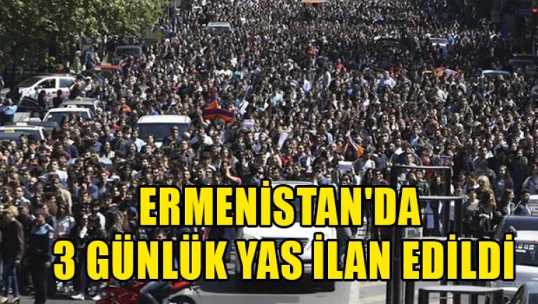 Ermenistan'da Karabağ için üç gün yas