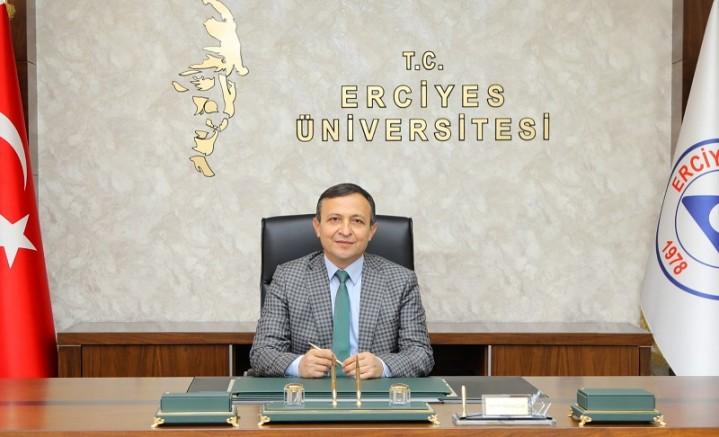"""ERÜ Rektörü Çalış'ın """"10 Ocak Çalışanlar Gazeteciler Günü"""" Mesajı"""