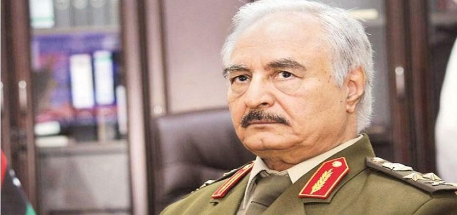 Hafter: Tüm kuvvetlerimizi Libya'daki Türk güçlerine karşı  savaşa hazır olmaya çağırıyorum