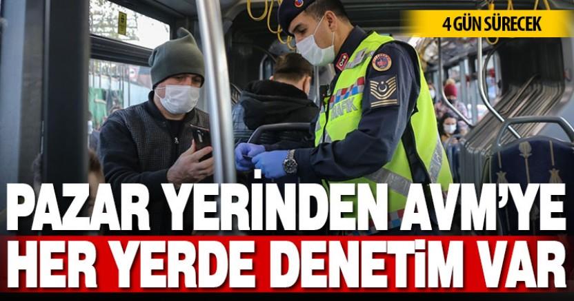 İçişleri Bakanlığı genelgesine göre Türkiye genelinde dört gün süresince Kovid-19 denetimleri artacak