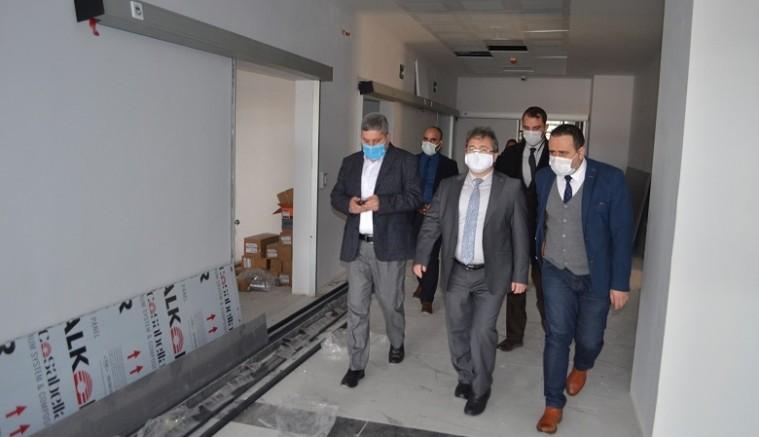 İl Sağlık Müdürü Doç. Dr.  Benli'den 75 Yataklı Bünyan Devlet Hastanesi Ziyaret
