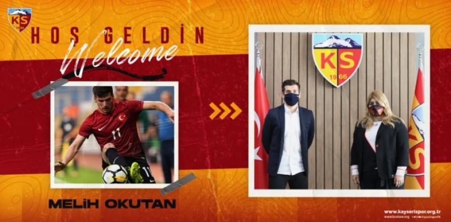 Kayserispor, Melih Okutan ile sözleşme imzaladı