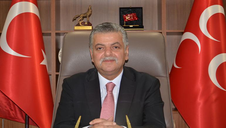 MHP Kayseri İl Başkanı Adnan İncetoprak'tan 30 ağustos zafer bayramı mesajı