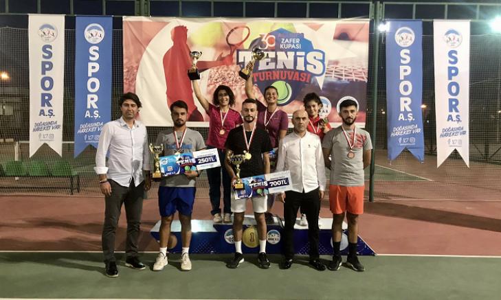 Spor A.Ş.nin Zafer bayramı'na özel turnuvaları sona erdi