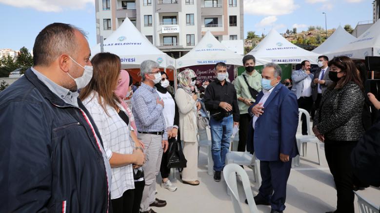 Talas'ta Öğrencilere yurt karşılaması büyük yankı uyandırdı