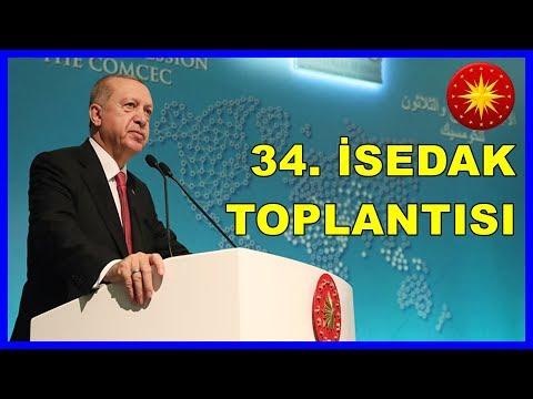Cumhurbaşkanı Erdoğan'ın 34'üncü İSEDAK Toplantısında Konuşması 28.11.2018