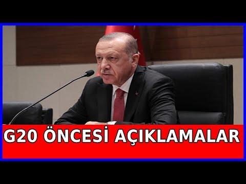 Cumhurbaşkanı Erdoğan'ın Arjantin Ziyareti Öncesi Açıklamaları 29.11.2018